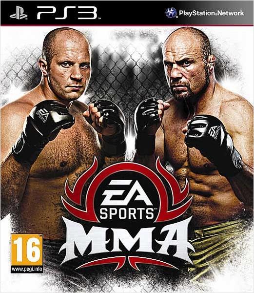 EA Sports MMA б/у PS3