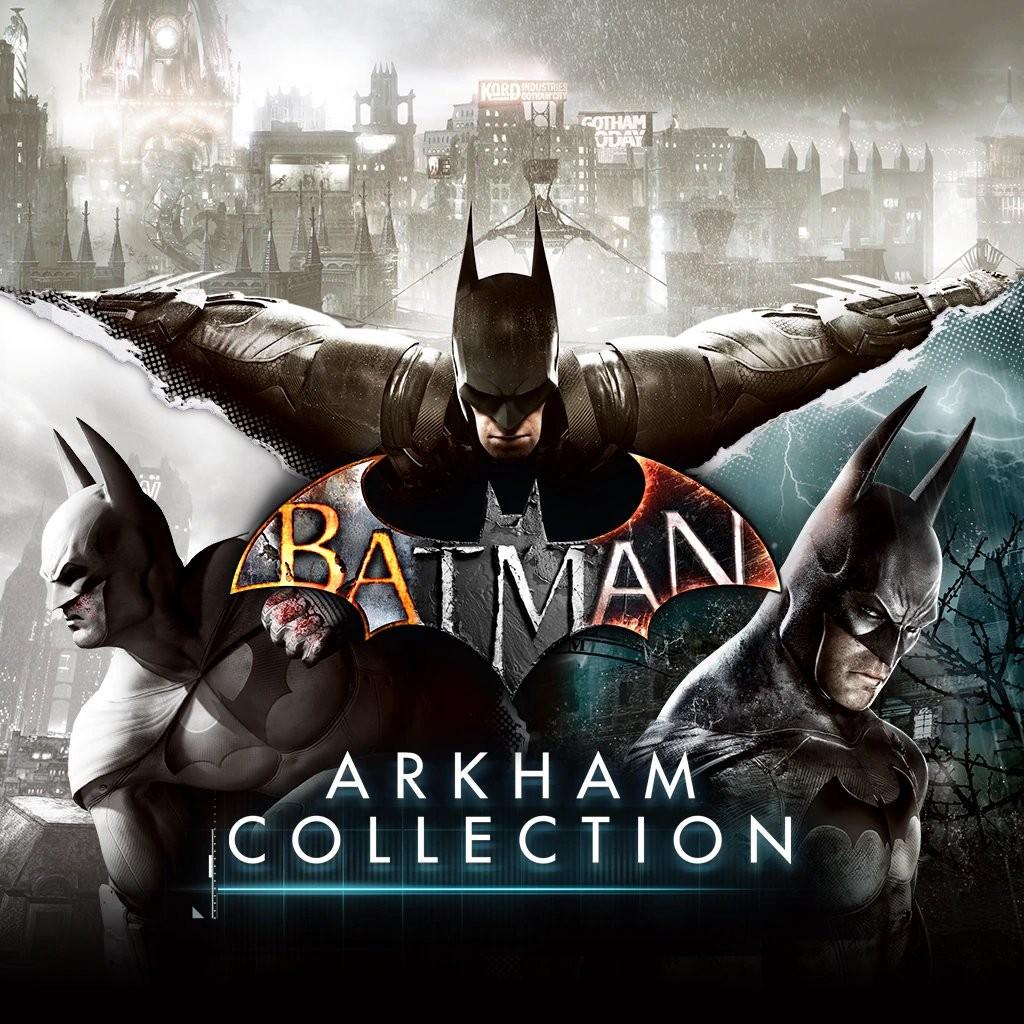 Прокат Batman Arkham Collection от 7 дней PS4