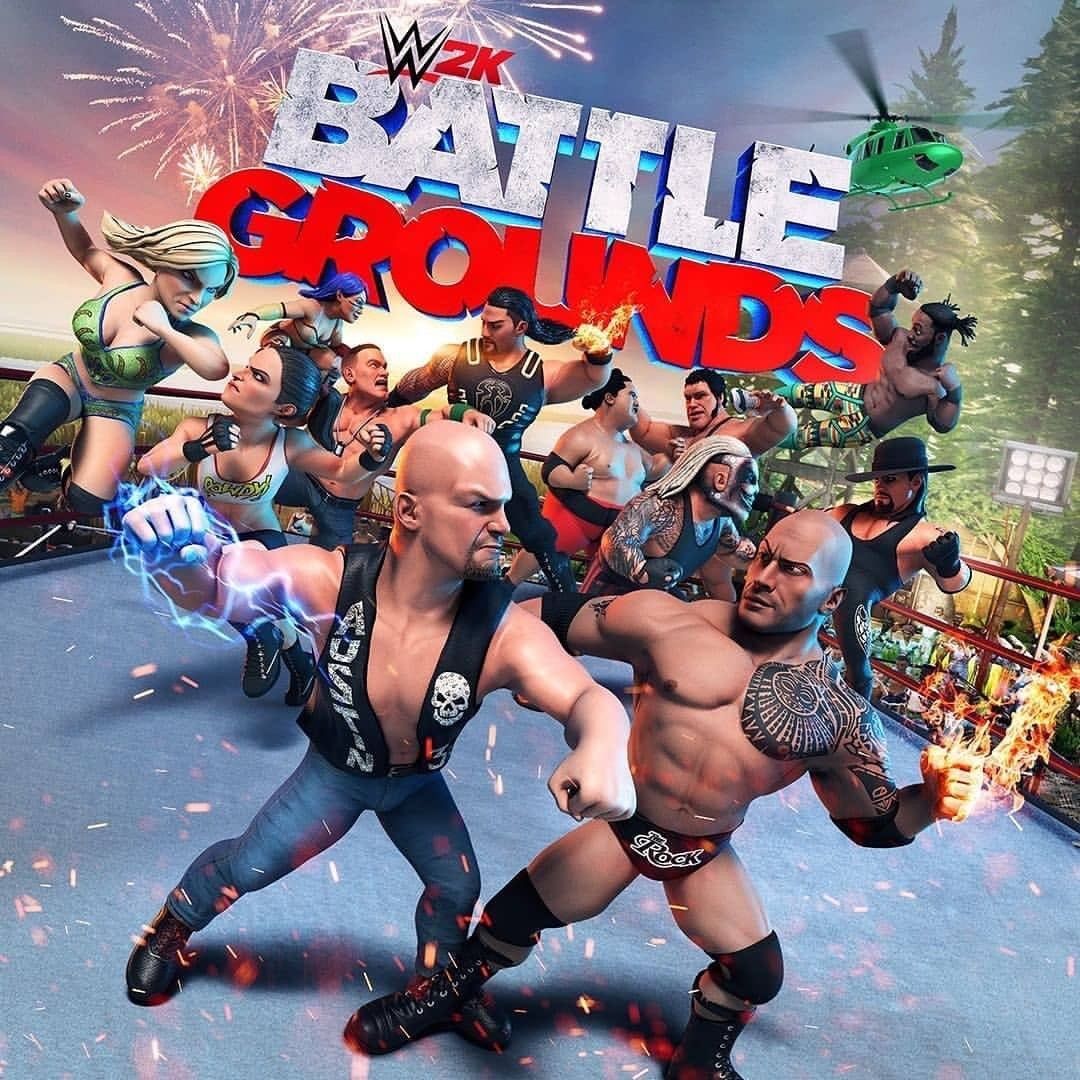 Прокат WWE 2K Battlegrounds от 7 дней PS4