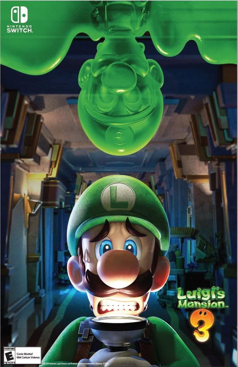 Nintendo Switch Luigi's Mansion 3 steelbook (стілбук)