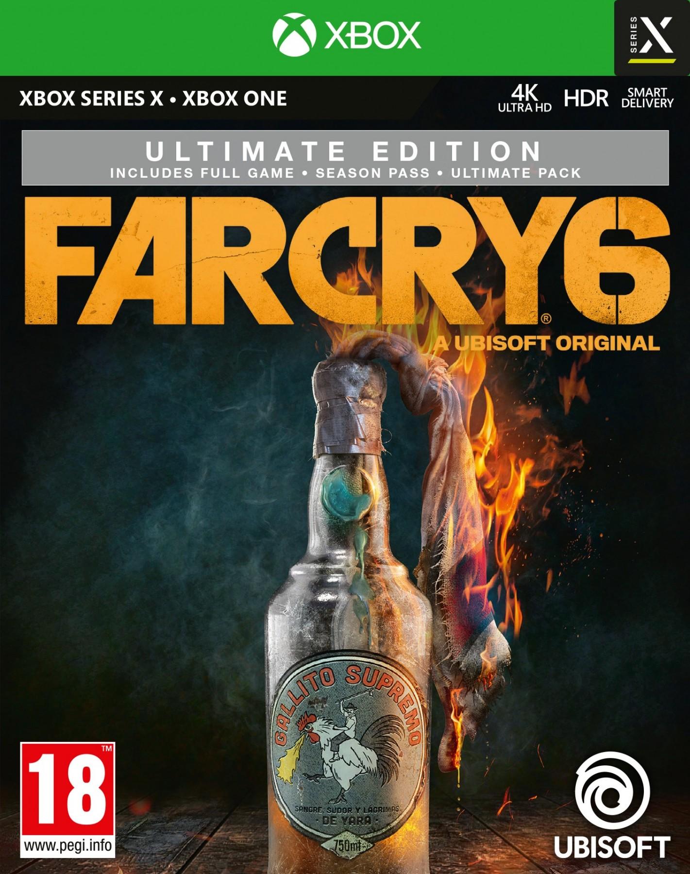 Far Cry 6 Ultimate Edition XONE/XSX