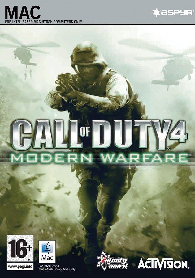 Call of Duty 4 Modern Warfare (для MAC) PC DIGITAL