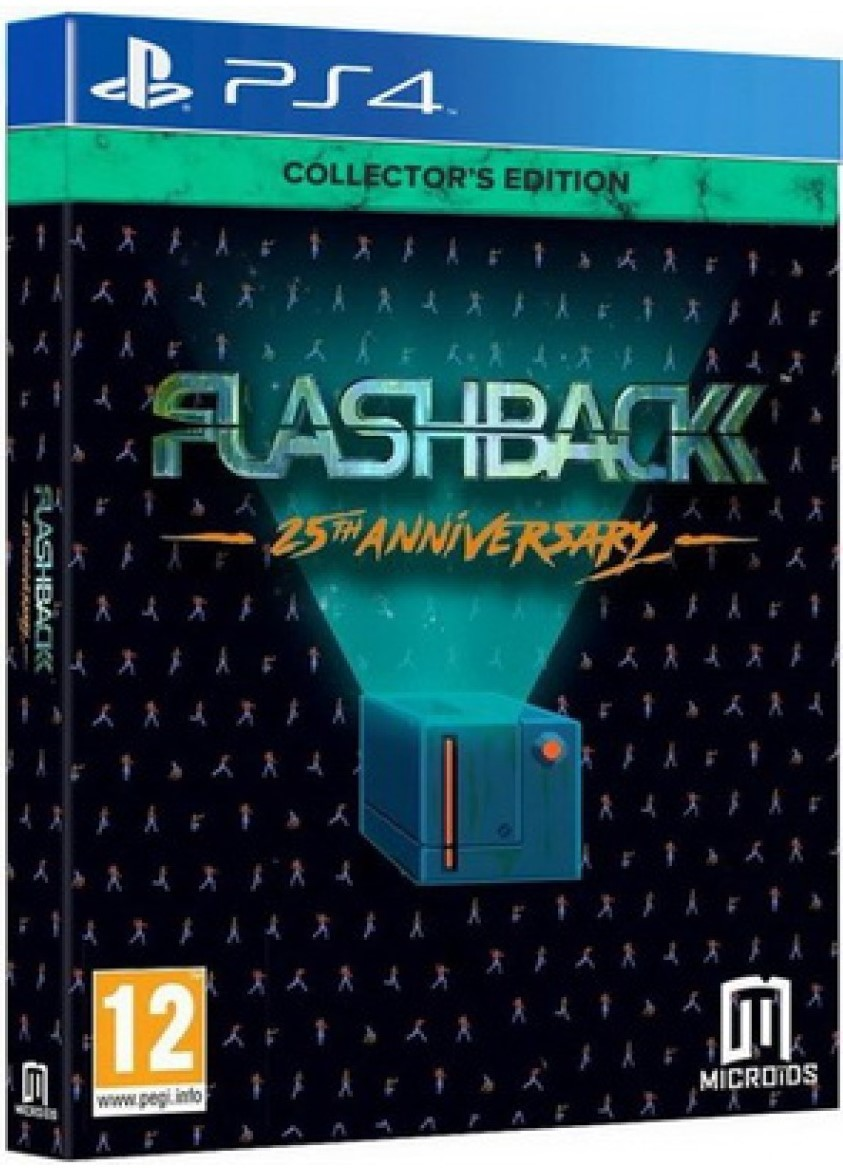 Flashback 25th Anniversary Collector's Edition PS4