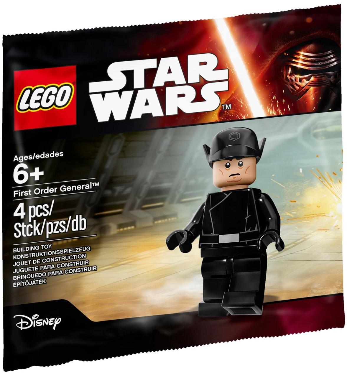 LEGO Star Wars The Force Awakens First Order General 5004406 | Мініфігурка Лего Зоряні Війни: Пробудження Сили. Генерал Першого Ордена