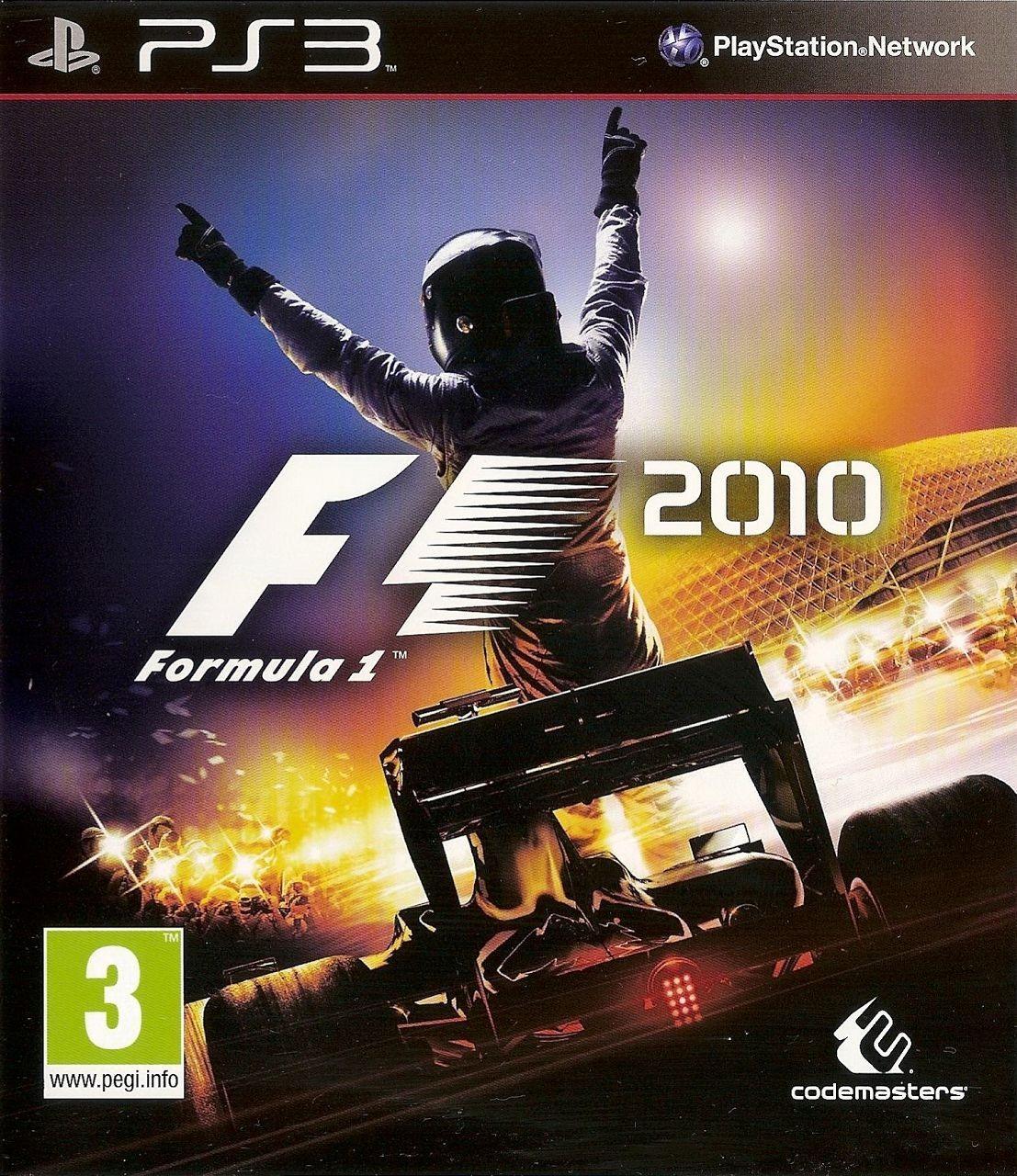 F1 2010 б/в PS3