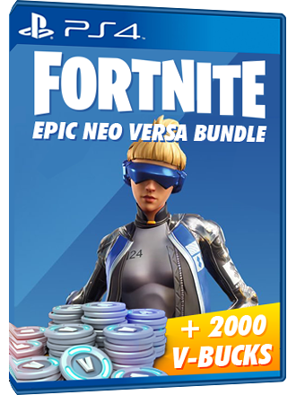 Код Fortnite Neo Versa + 2000$ ігрової валюти PS4