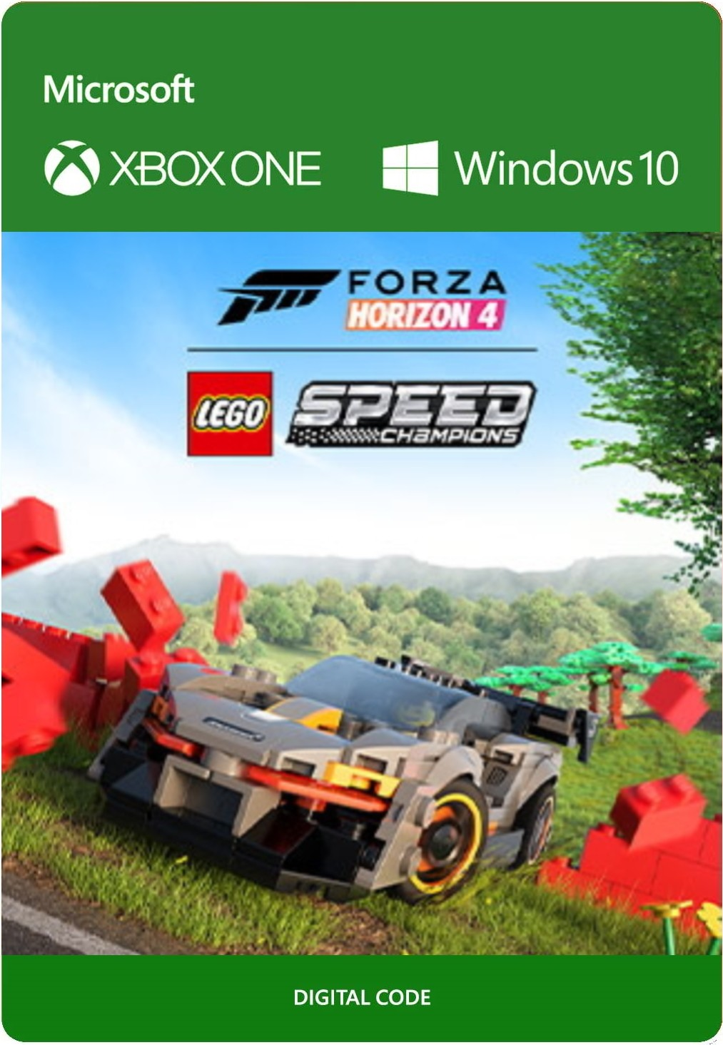 Forza Horizon 4 + LEGO Speed Champions (код) XONE