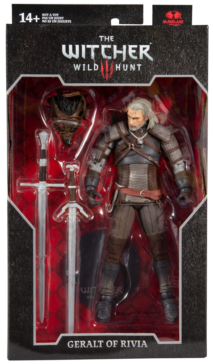 The Witcher Wild Hunt Geralt of Rivia McFarlane Toys