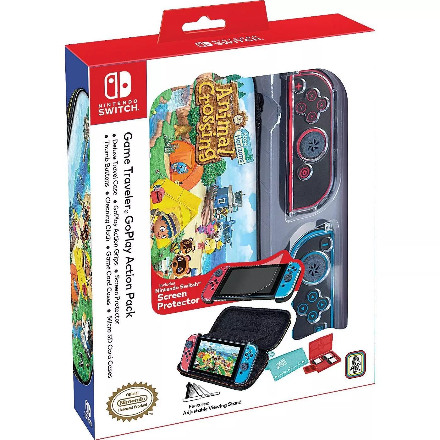 Защитный чехол Nintendo Switch Game Traveler GoPlay Action Pack - Animal Crossing New Horizons SWITCH + Lite