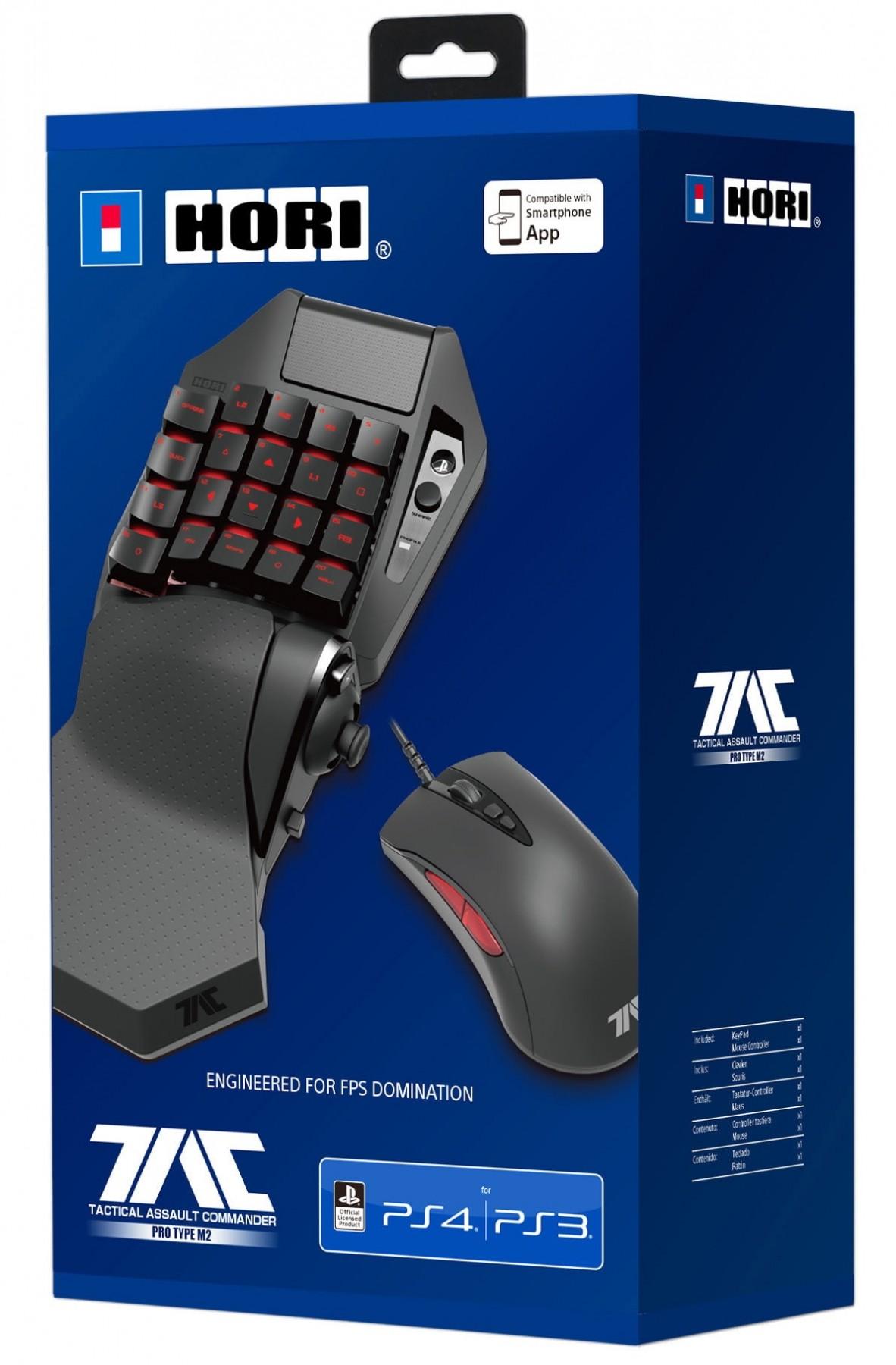 Игровая мышь и Кейпад Hori T.A.C. PRO TYPE M2