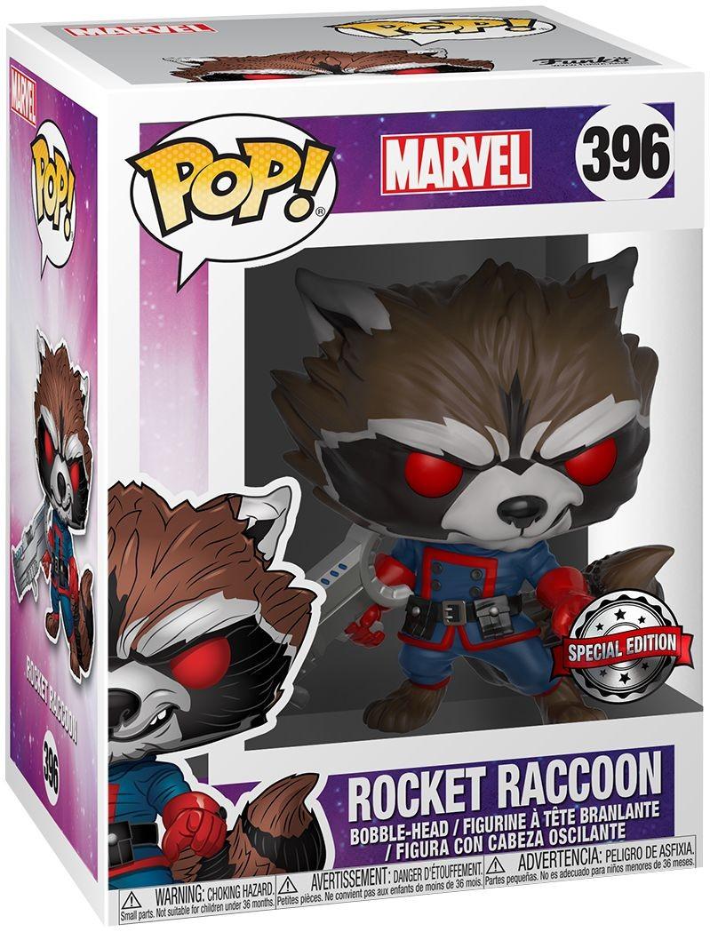 Marvel: Guardians of The Galaxy - Comic Rocket Raccoon | Фігурка Funko POP!