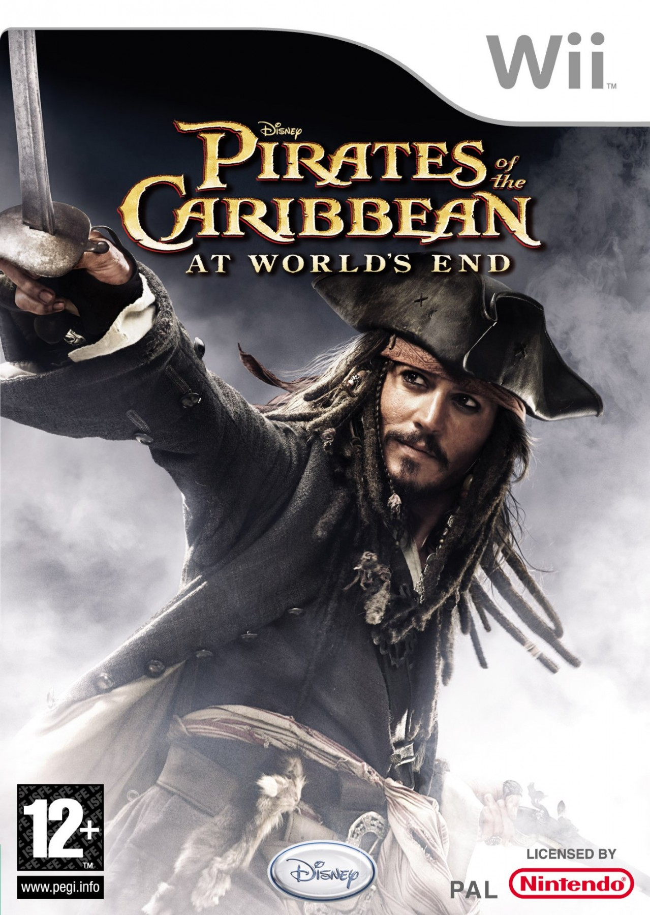 Pirates of the Caribbean At World's End б/в Wii