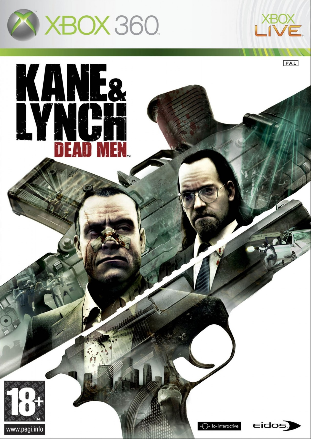 Kane & Lynch Dead Men б/в X360