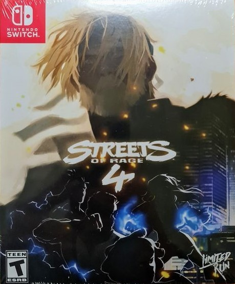 Streets of Rage 4 Limited Run SWITCH