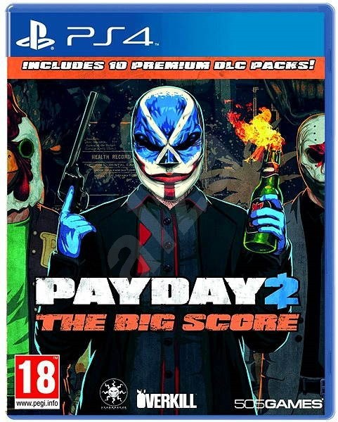 Payday 2 The Big Score PS4