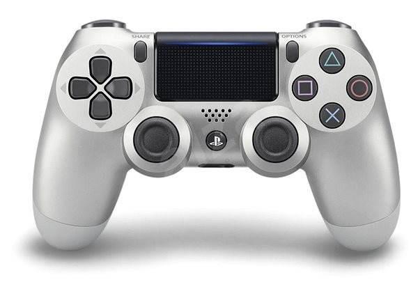Бездротовий контролер/джойстик/геймпад DualShock 4 Wireless Controller Silver V2