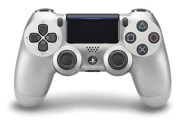 Беспроводной контроллер/джойстик/геймпад DualShock 4 Wireless Controller Silver V2