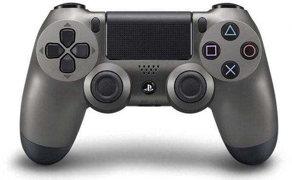 Беспроводной контроллер/джойстик/геймпад DualShock 4 Wireless Controller Steel Black V2