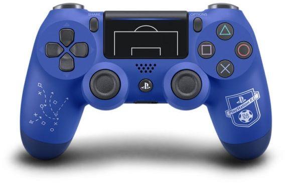 Беспроводной контроллер/джойстик/геймпад Dualshock 4 Wireless Controller V2 F.C. Limited Edition Blue