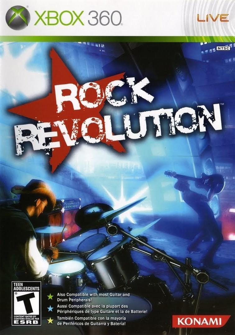 Rock Revolution б/в X360