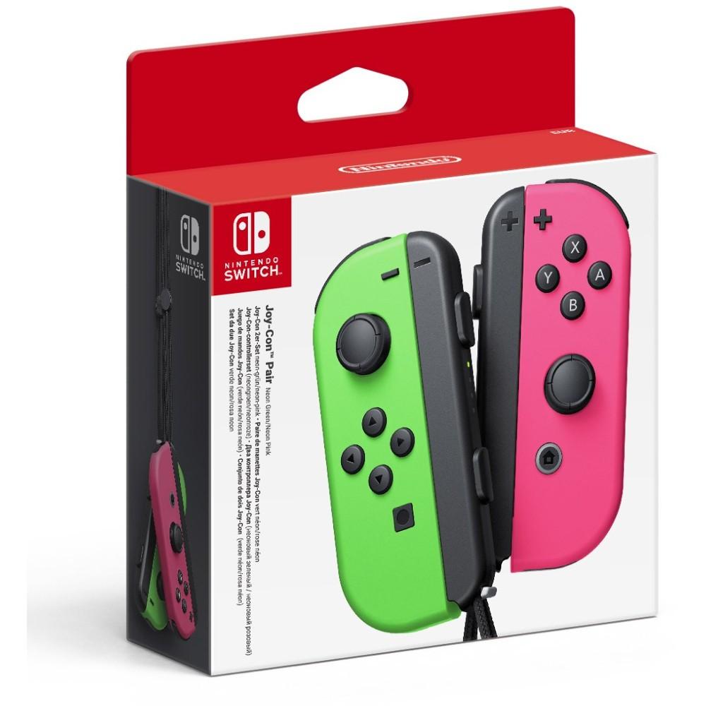 Игровой контроллер/джойстик/геймпад Joy-Con Neon Pink/Neon Green SWITCH
