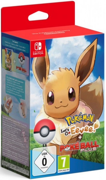 Pokemon: Let's Go, Eevee! + аксессуар PokeBall Plus SWITCH