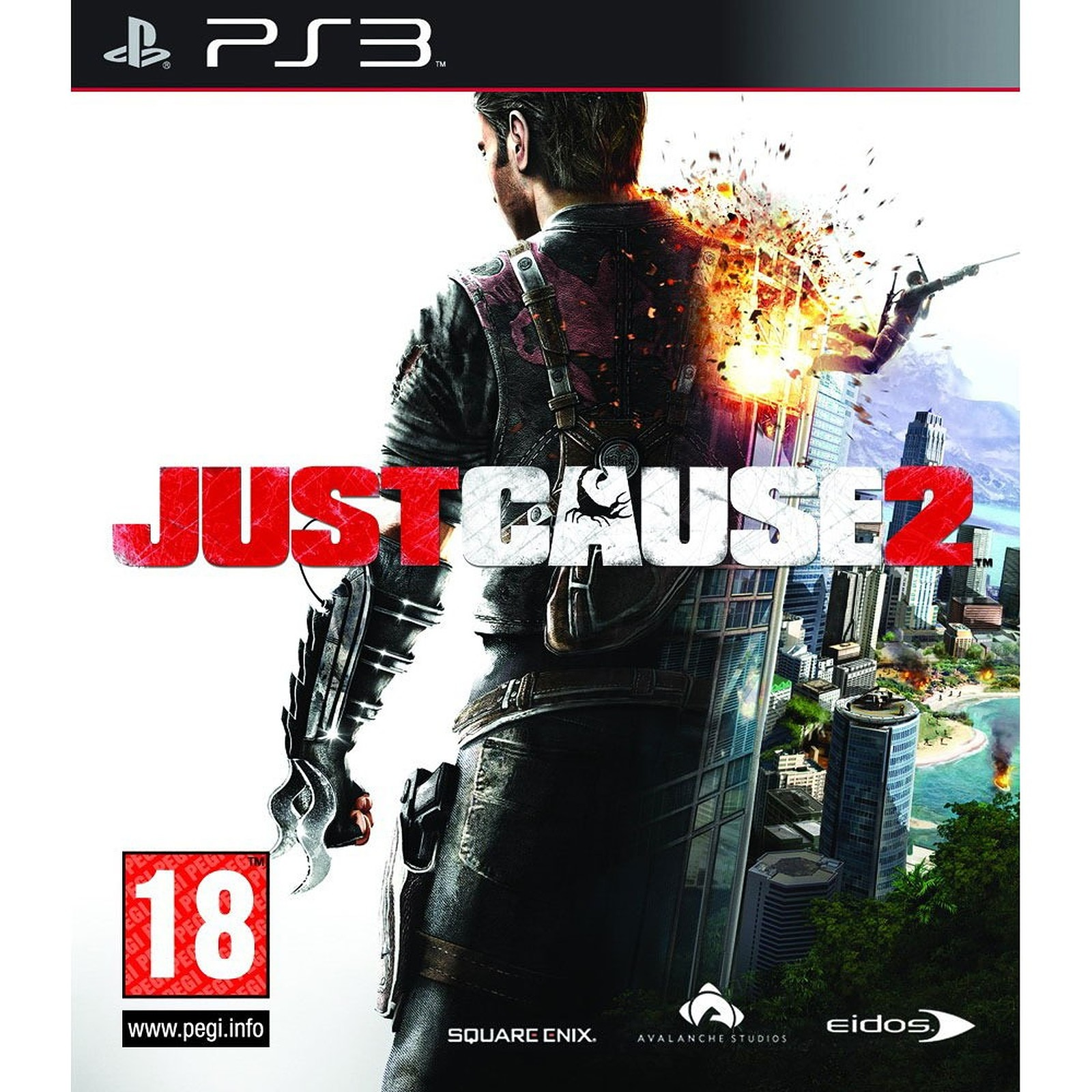 Just Cause 2 б/у PS3