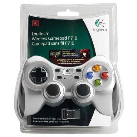 Бездротовий контролер/джойстик/геймпад Logitech Wireless Gamepad F710