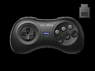 8BitDo M30 2.4G Gamepad for SEGA Mega Drive | 8BitDo M30 2.4G беспроводной контроллер/джойстик/геймпад