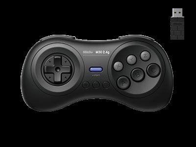 8BitDo M30 2.4G Gamepad | 8BitDo M30 2.4G бездротовий контролер/джойстик/геймпад