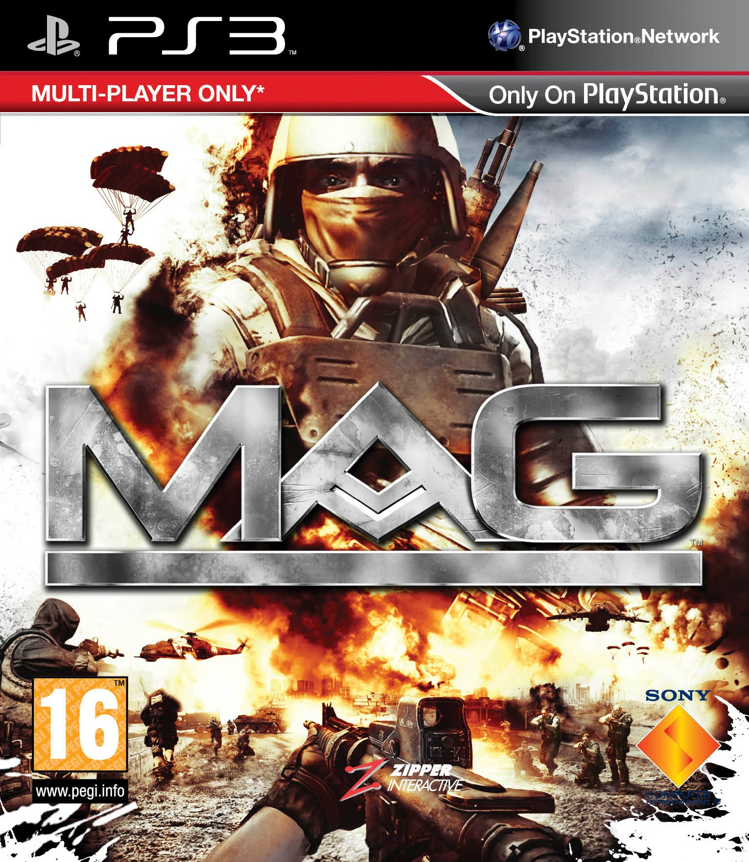 MAG б/у PS3