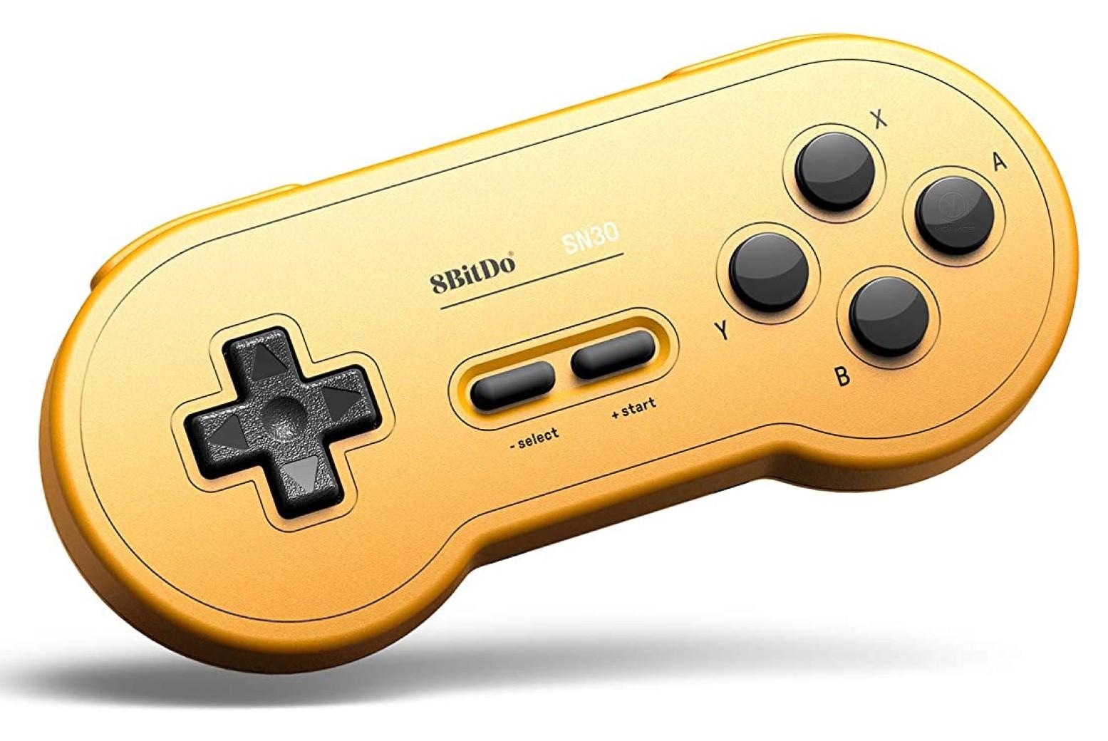 8BitDo SN30 Wireless Bluetooth Gamepad GP Yellow | 8BitDo SN30 бездротовий Bluetooth контролер/джойстик/геймпад
