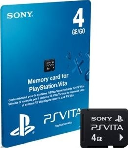 Memory card for PlayStation Vita 4gb