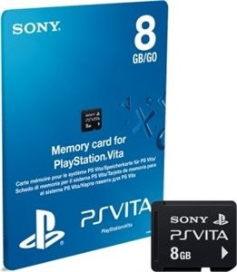 Memory card for PlayStation Vita 8gb