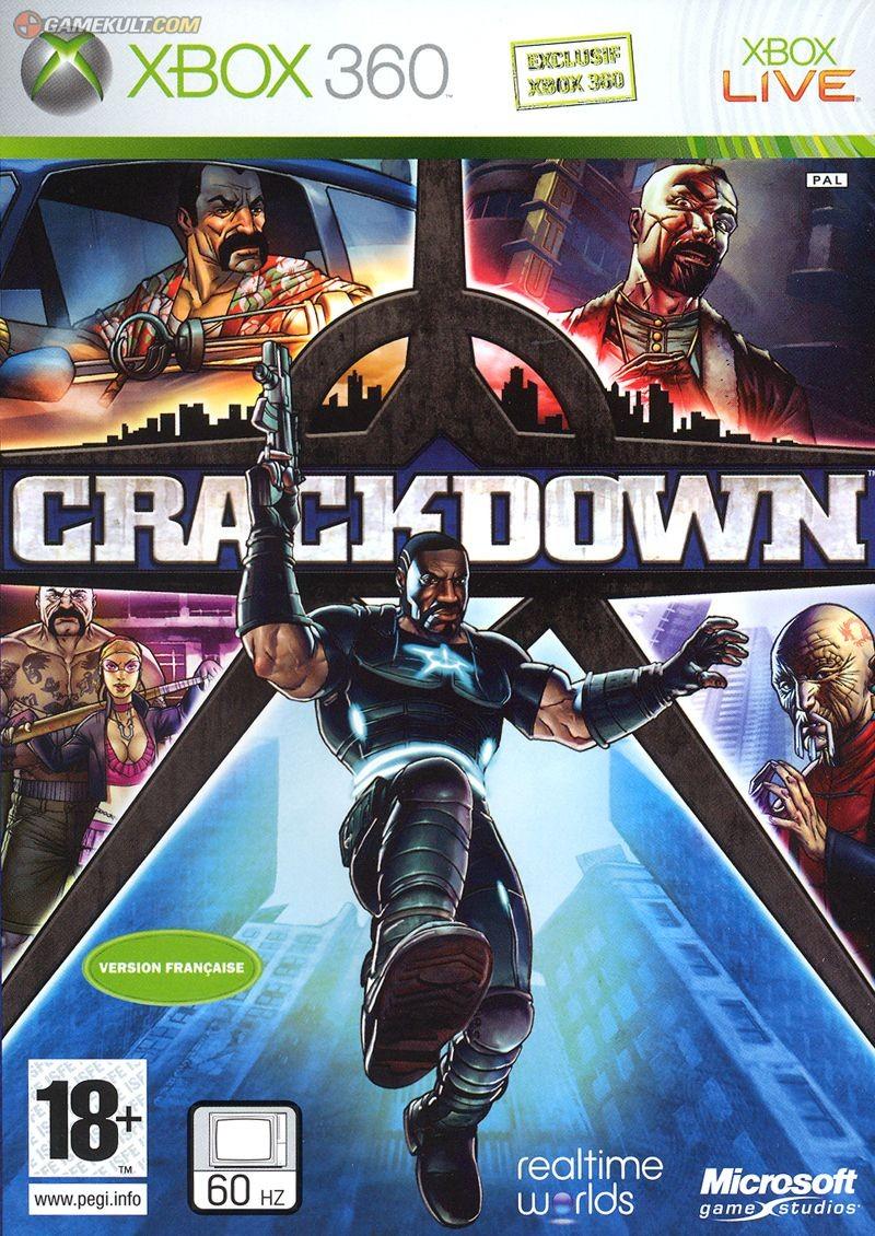 Crackdown б/в X360