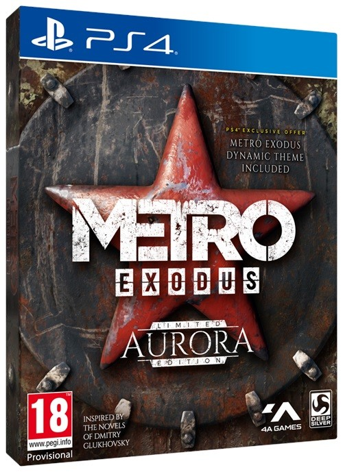 Metro Exodus Aurora Edition | Метро Ісход PS4