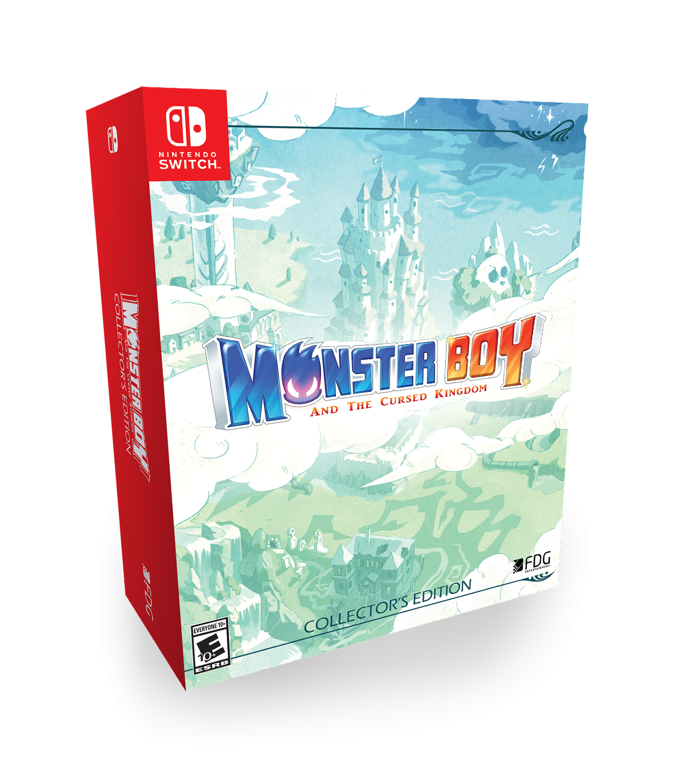 Monster Boy - Collector's Edition | Monster Boy and the Cursed Kingdom SWITCH