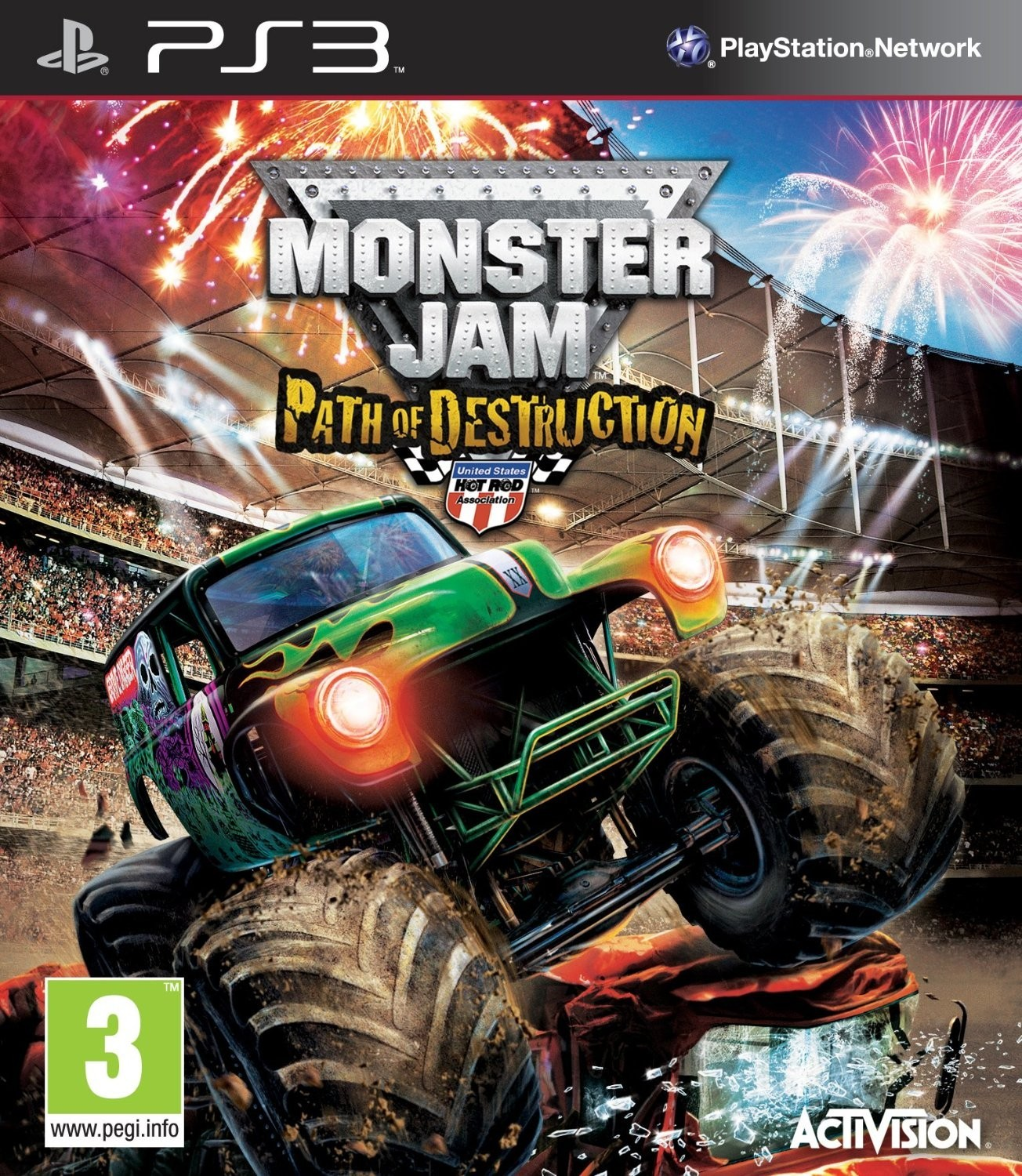 Monster Jam Path of Destruction б/в PS3
