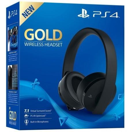 Бездротова гарнітура Wireless Stereo New Gold (Black)