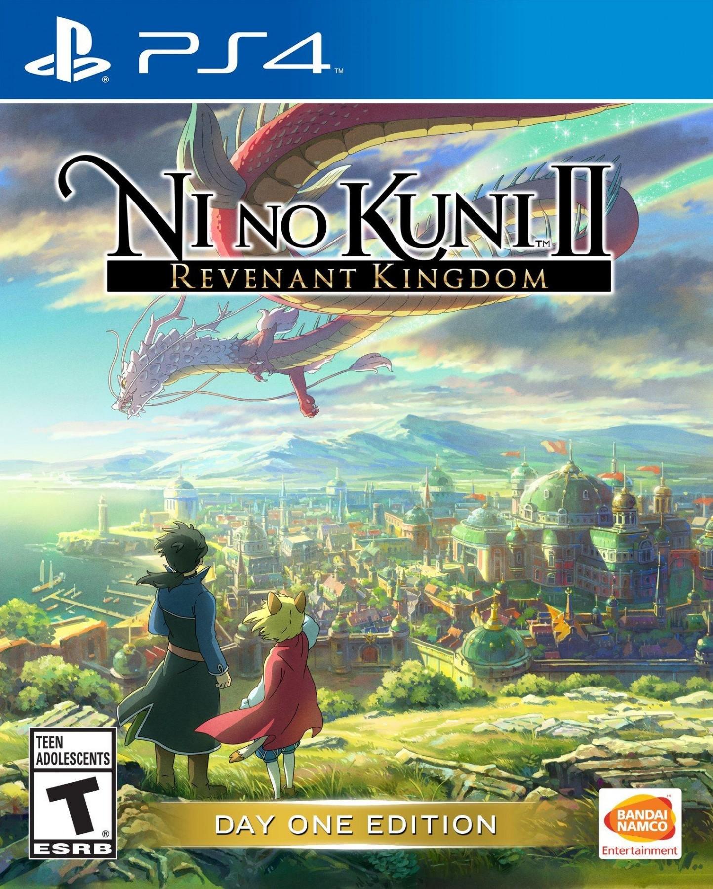 Ni no Kuni II Вiдродження Короля б/в PS4