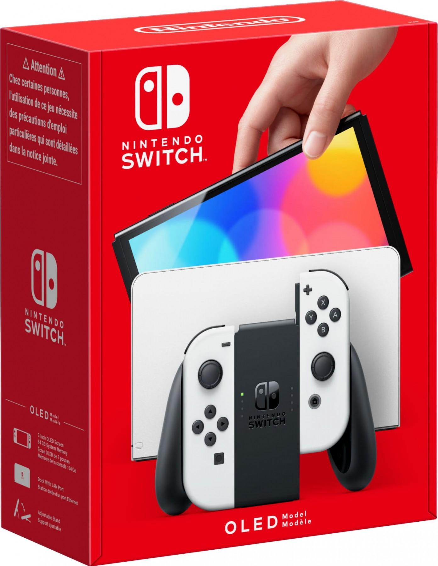 Ігрова консоль Nintendo Switch White (OLED-модель) (білий)