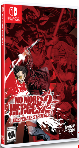 No More Heroes 2 Desperate Struggle SWITCH