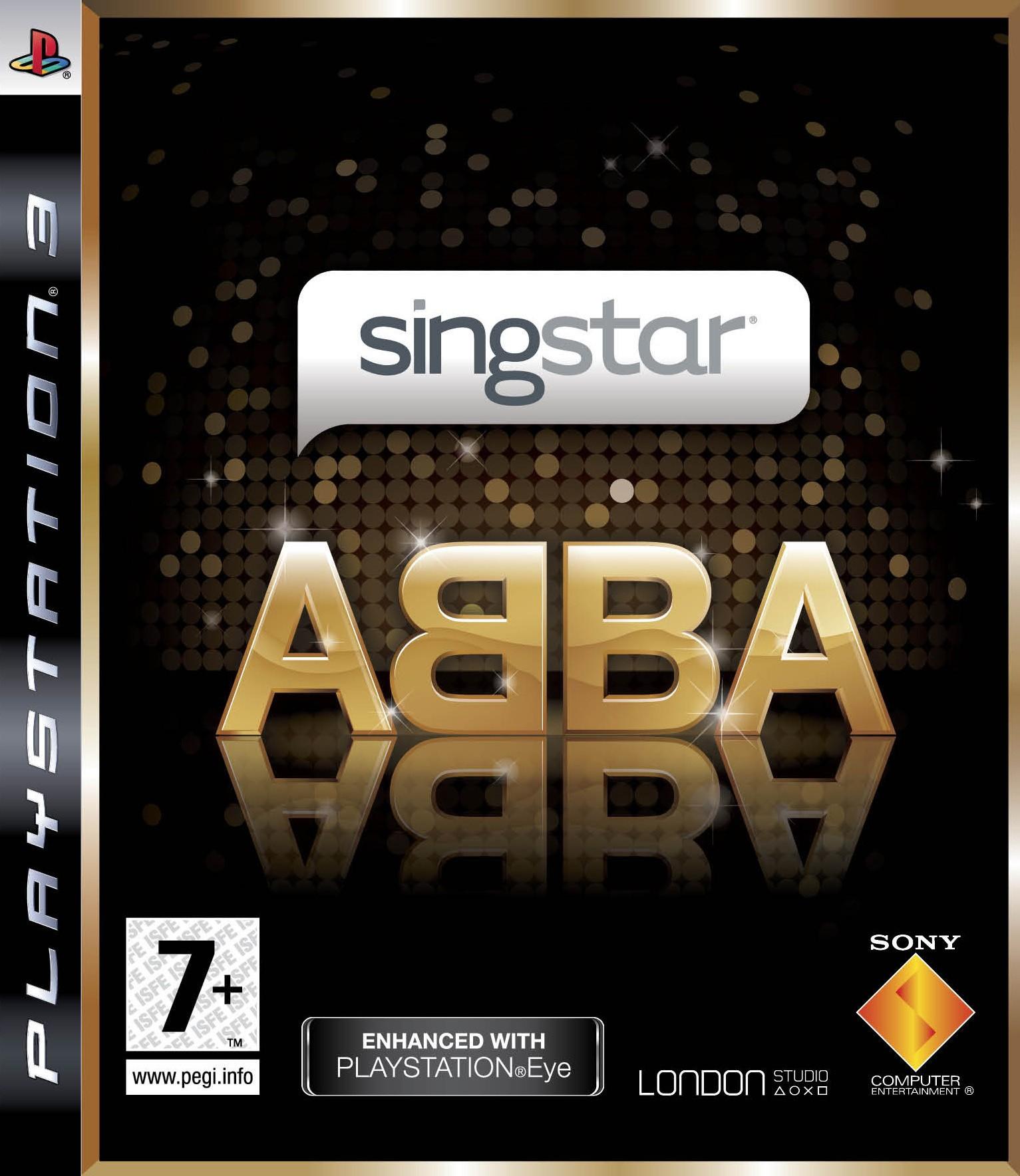 SingStar Abba б/в PS3