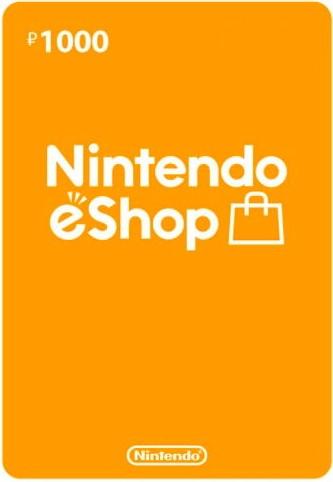 Nintendo eSHOP карта оплаты на 1000 рублей (регион Россия) (код)