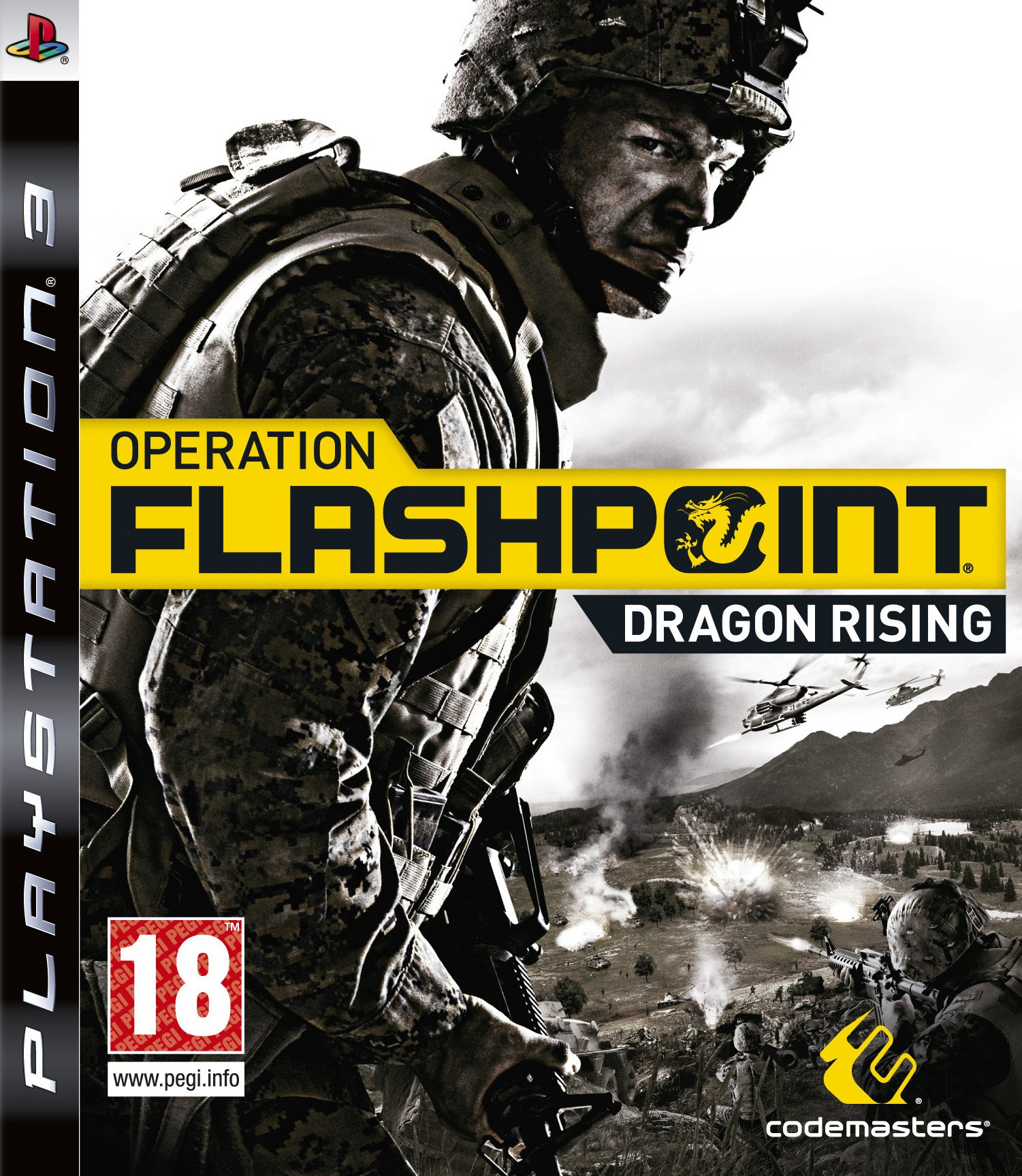 Operation Flashpoint Dragon Rising б/в PS3