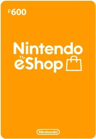 Nintendo eSHOP карта оплаты 600 рублей (регион Россия) (код)