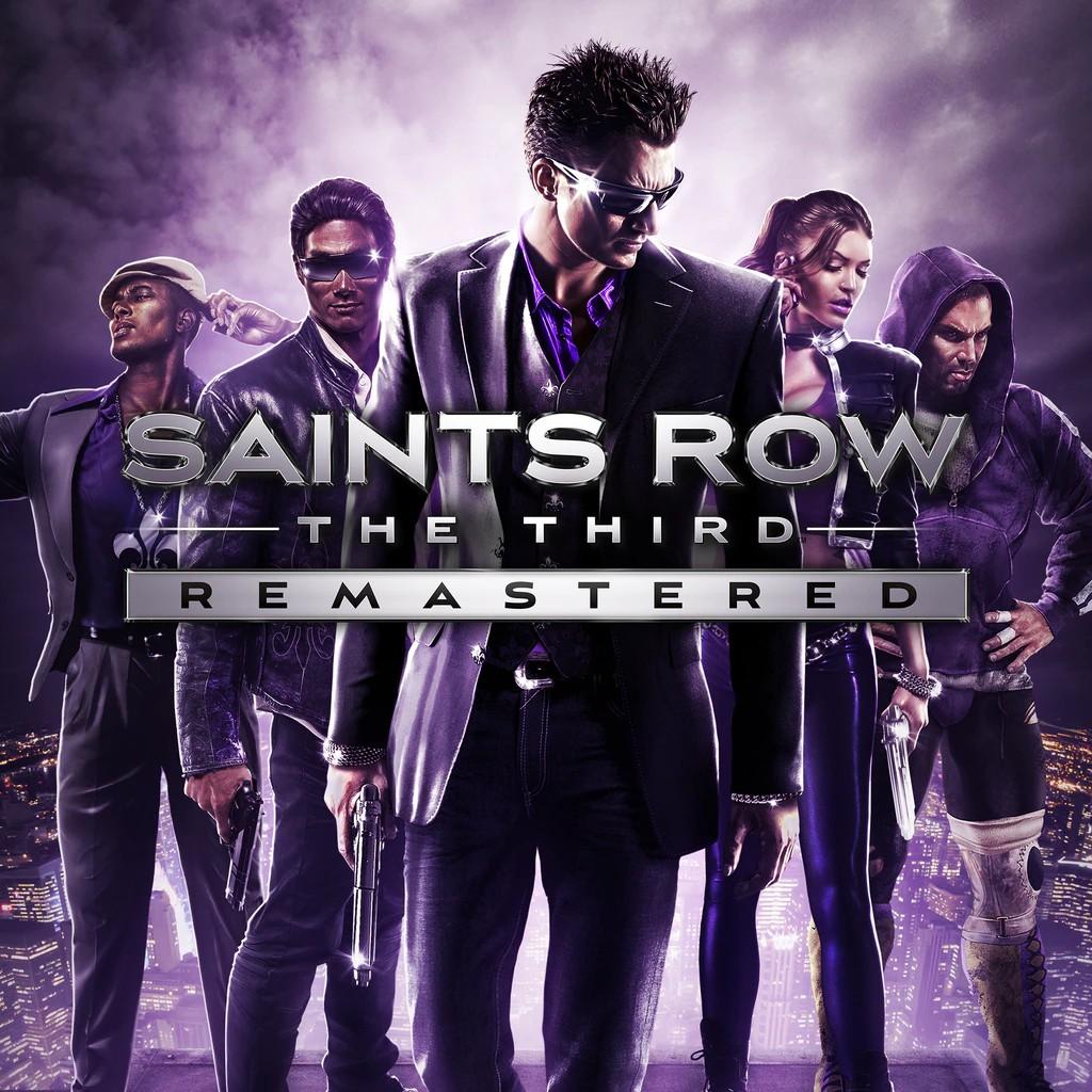 Прокат Saints Row: The Third Remastered от 7 дней PS4/PS5