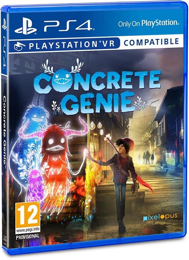 Concrete Genie | Міські духи (підтримка VR) PS4
