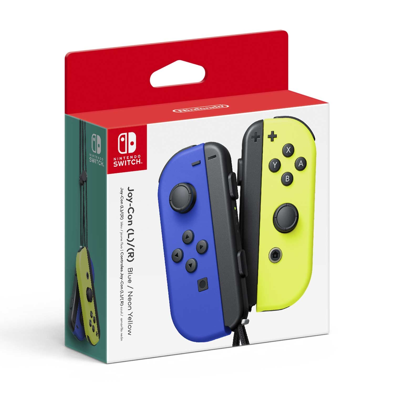 Игровой контроллер/джойстик/геймпад Joy-Con Blue/Neon Yellow SWITCH