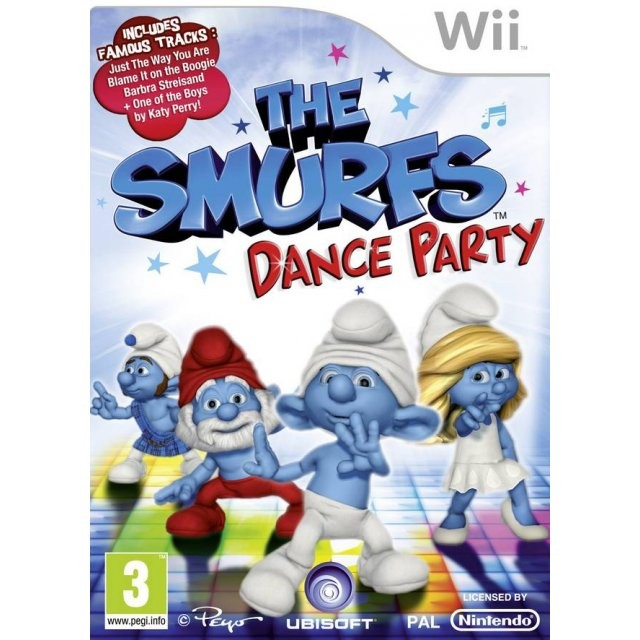 The Smurfs Dance Party б/в Wii